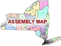 Nys Assembly District Map Legislative Districts