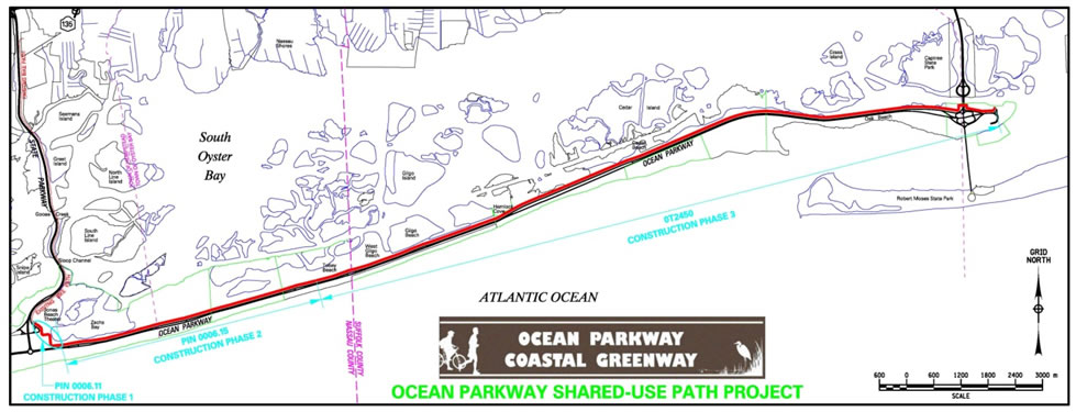 Click Here For Ocean Parkway Coastal Map